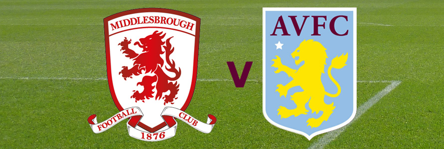Middlesbrough v Aston Villa (30/12/17)