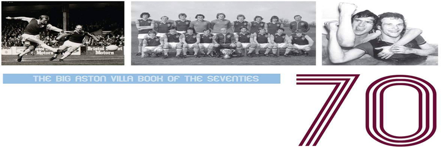 Book launch: The Big Aston Villa Book of the Seventies