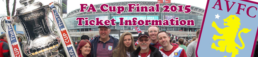FA Cup Final 2015 ticket information