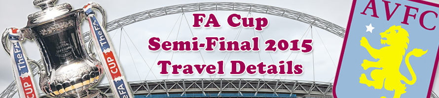 FA Cup Semi-Final 2015 Travel Details