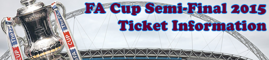 FA Cup Semi-Final 2015 Ticket Information