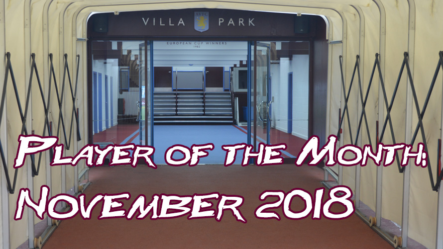 Player of the Month Result: November 2018