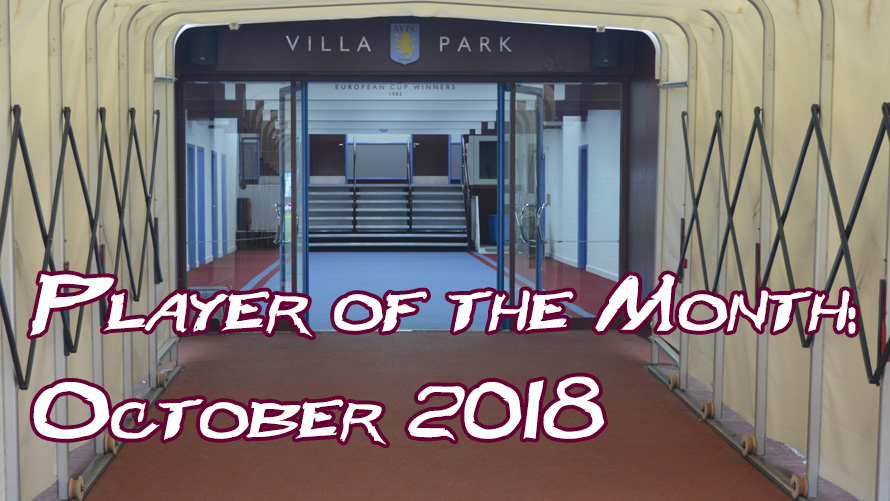 Player of the Month Result: October 2018
